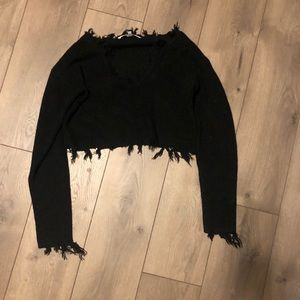 Lovers and friends cropped sweater